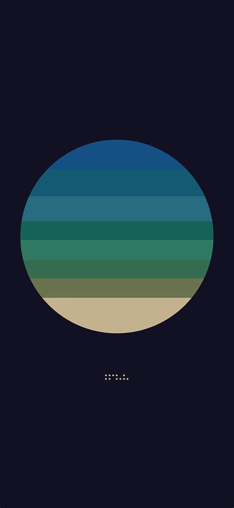aj tycho art cover  blue illust minimal wallpaper