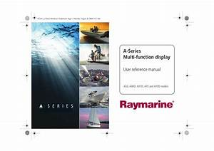 Download Free Pdf For Raymarine A Series A57d Gps Manual