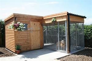 Outdoor dog kennels request for funds for a permanent for Outside covered dog kennels