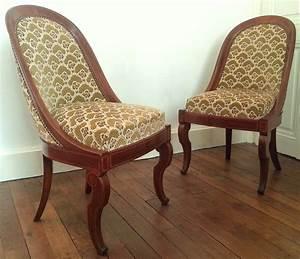 Magasin De Chaises : paire de chaises gondoles d poque charles x magasin pierre brost ~ Teatrodelosmanantiales.com Idées de Décoration