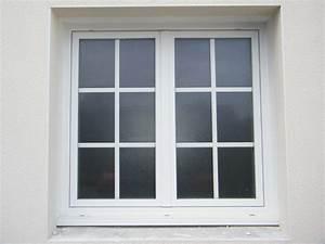 menuiseries composium et porte d39entree blanche en pvc With porte de garage enroulable avec porte fenetre pvc petit carreaux