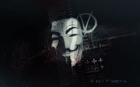 V For Vendetta, Anonymous Hd Wallpapers / Desktop And