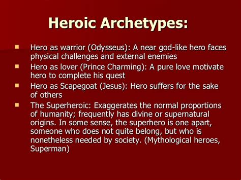 archetypal hero what is an archetype