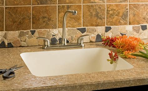 quartz countertop with integrated sink dessco countertops solid surface countertops