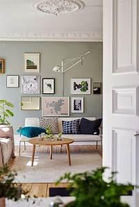 Peinture Vert De Gris : tendance deco le gris vert salon deco d co maison et ~ Melissatoandfro.com Idées de Décoration