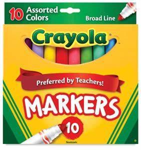 Crayola Marker Sets BLICK art materials