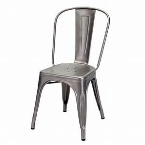 Chaise De Bar Tolix : a chair pour bars et restaurants chaise tolix de bar ou restaurant en m tal empilable aussi ~ Teatrodelosmanantiales.com Idées de Décoration