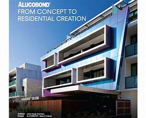 Modern Residential Facades with Alucobond Architectural