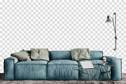 Living Painting Transparent Oil Clipart Sofa Bed