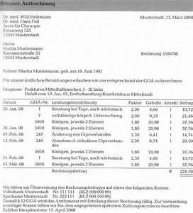 Goä Abrechnung Beispiel : grundlagen der leistungsabrechnung private krankenversicherung 123 versicherung ~ Themetempest.com Abrechnung