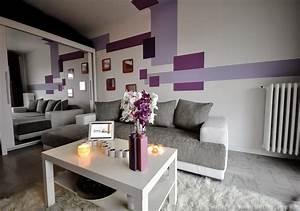 Wohnzimmer Bild Grau : wohnzimmer grau einrichten und dekorieren ~ Michelbontemps.com Haus und Dekorationen