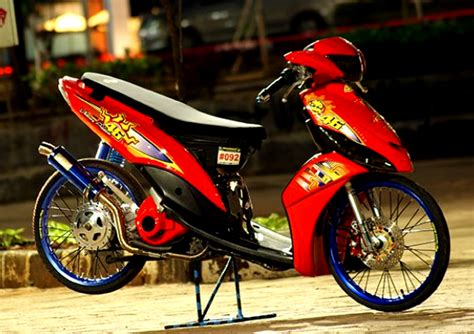 Modifikasi Mio Thailook by 70 Gambar Modifikasi Mio Gaya Thailook Terbaru 2017