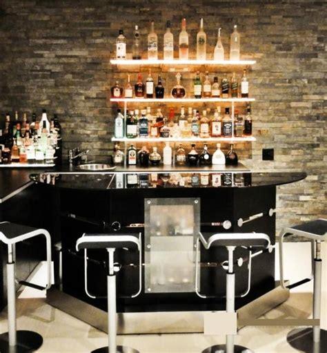 wall mounted liquor 10 attractive mini liquor bars for the kitchen rilane