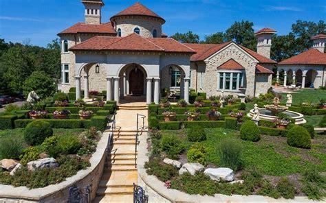 $10 Million Italian Inspired Mansion On 35 Acres In