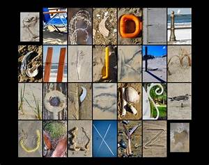 beach themed alphabet in photography art 11quotx14quot With beach letter art photography