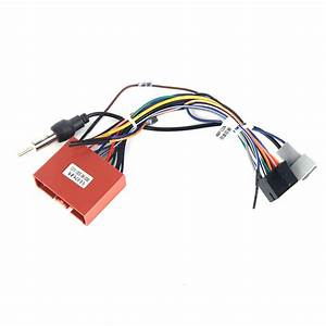 Dasaita Dyx011 Car Dvd Auto Stereo Wire Harness Adapter Wiring Connector For Mazda 2 3 Factory