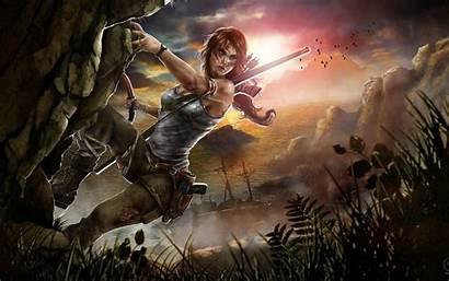 Raider Games Tomb Lara Croft Fan Wallpapers
