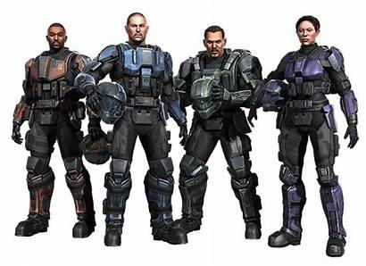 Raven Halo Fireteam Fodder Canon Chronique Landfall