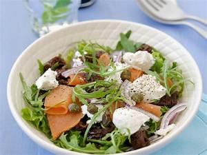Salat Mit Geräuchertem Lachs : rucolasalat mit ger uchertem lachs und ziegenfrischk se rezept eat smarter ~ Orissabook.com Haus und Dekorationen