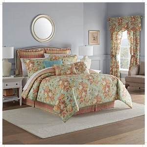 waverly, spring, bling, 4, piece, comforter, set