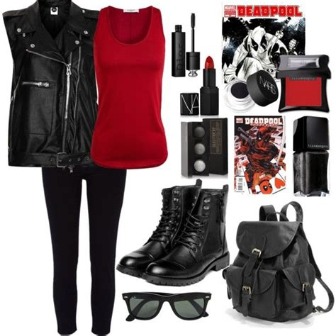 Deadpool Inspired Style  My Outfit Insperations