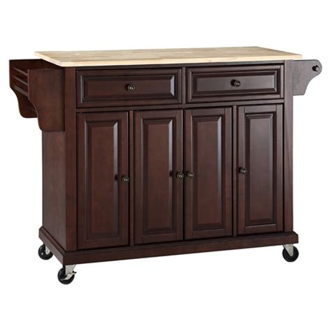 kitchen island with casters wood top kitchen cart island casters vintage
