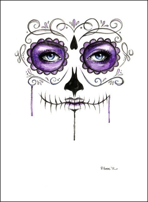 sugar skull google search  blank canvas pinterest