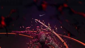 SimplyWallpapers.com: Nike abstract artistic basketball ...