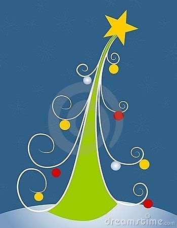 Abstract Christmas Tree Clip Art