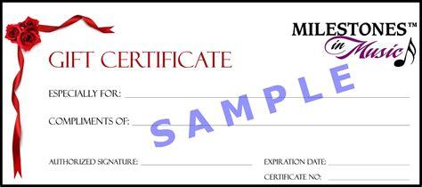 Gift Certificate Template Blank Gift Certificate Template Mughals