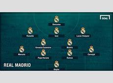 Casemiro, Raphael Varane ¿Cómo alineará el Real Madrid en