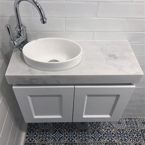 london mini wall hung white bathroom