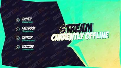 Fortnite Banner Offline Stream Twitch Turquoise Tv