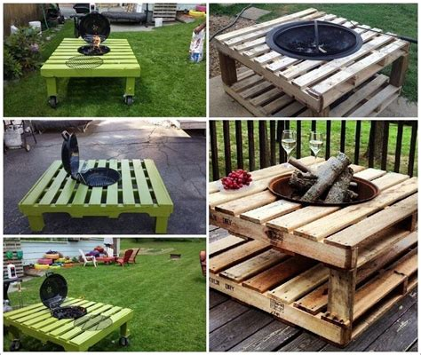 Is It To Burn Wood In Backyard by Build A Pallet Pit That Won T The Bank 1