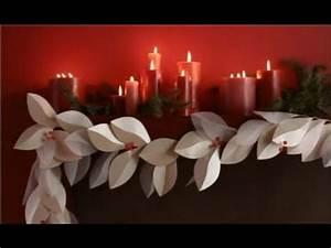 Christmas Decorating Ideas DIY Paper Christmas Garland