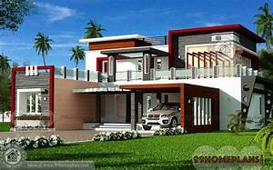 Luxury Modern House Floor Plans Design