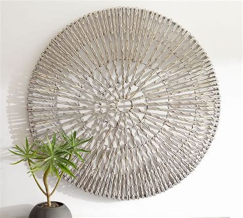 Woven Wheel Wall Art Pottery Barn