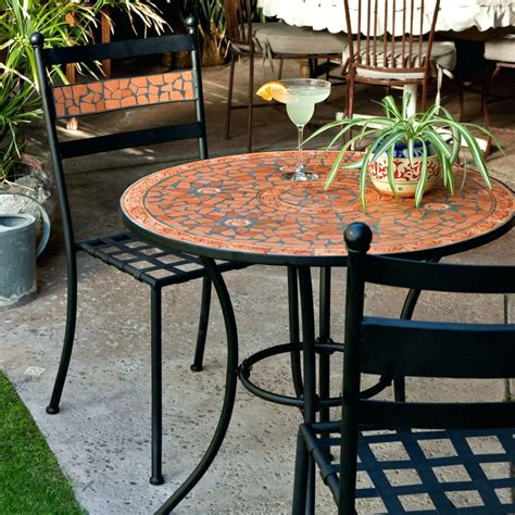 Small Patio Table Set by Folding Balcony Deck Table With Chairs Porch And Patio