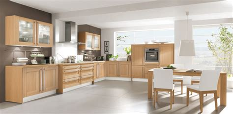 cuisine equipee bois cuisine équipée bois clair le bois chez vous