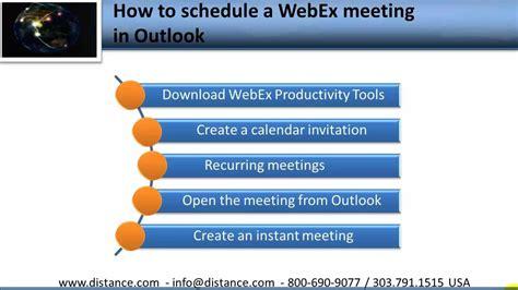 webex schedule  webex meeting  outlookmp youtube