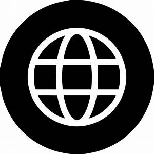 Earth World Wide Web Circle Connect Round Svg Png Icon ...