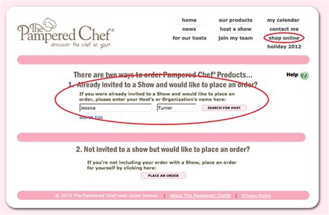 pampered chef invitations wording