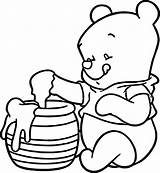 Pooh Wecoloringpage sketch template