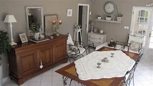 deco maison de campagne salon de jardin en rotin sous les With exceptional idee deco terrasse jardin 12 ambiance campagne chic maison and deco