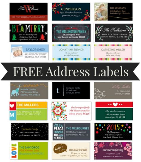 shutterfly  address labels    pay