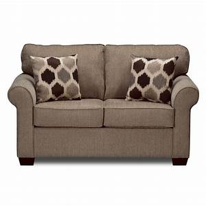Fletcher upholstery twin sleeper sofa value city furniture for Sectional sleeper sofa city furniture