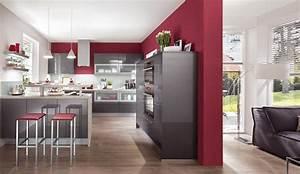 Moderne einbaukuche norina 7757 anthrazit hochglanz for Küche hochglanz grau