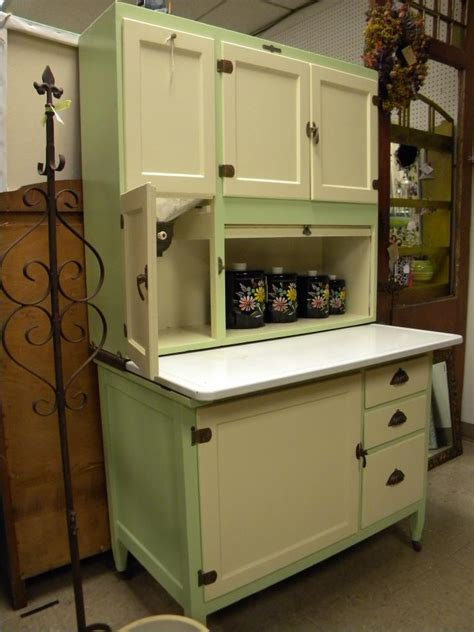 green and cream hoosier cabinet hoosier cabinet pinterest