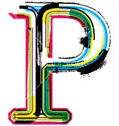 Cool Letter P