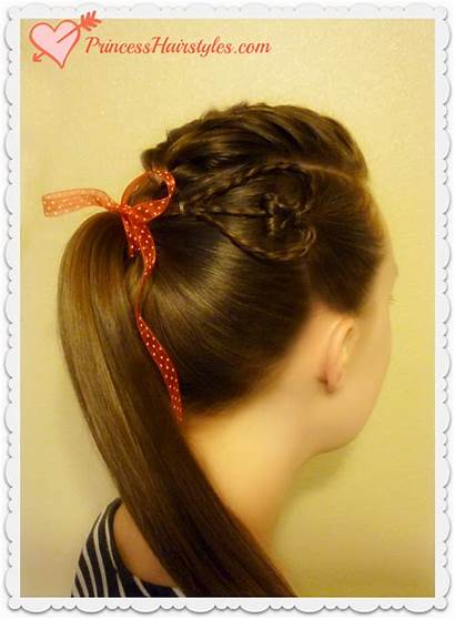 Heart Hairstyle Valentine Teens Braided Hairstyles Braid